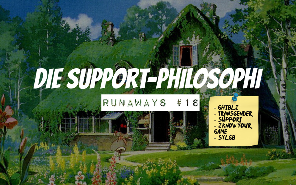 Die Support-Philosophi